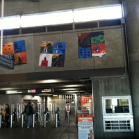 Photo taken at MARTA - Arts Center Station by Tabatha P. on 2/9/2013