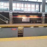 Photo taken at MBTA Ashmont/Peabody Square Station by Robert T. on 3/3/2013