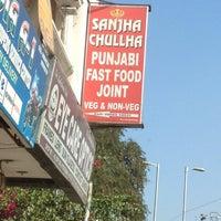 Photo taken at Sanjha Chulha by Chaitanya D. on 1/17/2013