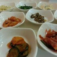 Photo taken at Hanwoori Korean Restaurant by Karen Y. on 1/18/2013