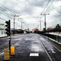 Photo taken at Cevizlibağ - A.Ö.Y. Tramvay Durağı by Alkan A. on 3/15/2013