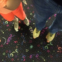 Photo taken at Rainbow Roller Rink by Jonathan K. on 7/11/2015