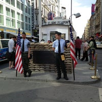 Photo taken at H Kochstr./Checkpoint Charlie by hugo m. on 6/8/2013