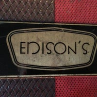 Photo taken at Edison's by Eat With Dan on 9/7/2013