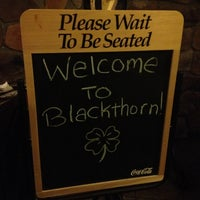 Photo taken at Blackthorn Irish Pub & Restaurant by Eat With Dan on 12/2/2012