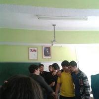 Photo taken at Konya Dumlupınar Anadolu Lisesi by Gökçe G. on 3/20/2013