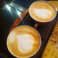 Photo taken at Coffee Map Roastery by Sorina M. on 3/5/2014