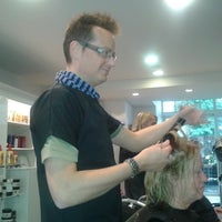 Photo taken at Bert's Coiffure by christine l. on 10/10/2013