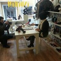 Photo taken at Sezgi Besli Design Shoes Store by Güfran Ü. on 1/31/2013