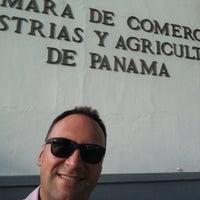 Photo taken at Cámara de Comercio, Industrias y Agricultura de Panamá by Andres R. on 8/15/2016
