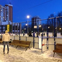 Photo taken at Каток by Angelina M. on 1/25/2013