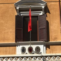 Photo taken at Albanian Embassy - Rome by Genti P. on 5/26/2017