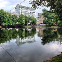 Снимок сделан в Чистые пруды пользователем Владимир Я. 6/8/2013