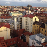Photo taken at Hotel Praga 1 by Владимир Я. on 11/10/2013