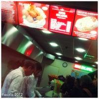 Photo taken at King falafel by Fauzia J. on 12/16/2012