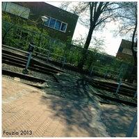 Photo taken at Tramhalte Wouwermanstraat by Fauzia J. on 4/20/2013