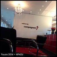 Photo taken at Compagnon by Fauzia J. on 8/25/2014