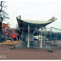 Photo taken at Tramhalte Wouwermanstraat by Fauzia J. on 4/3/2013