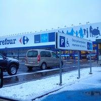 Photo taken at Carrefour hypermarkt by Verrept R. on 3/11/2013