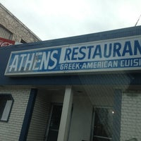 Photo taken at Athens Restaurant by Lisa M. on 1/15/2013