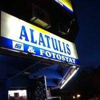 Photo taken at MNY Mega Trading (Alatulis & Fotostat) by coklat p. on 12/17/2011