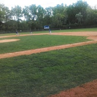 Photo taken at Roy Guilliam Babe Ruth Field by Trent J. on 5/27/2014