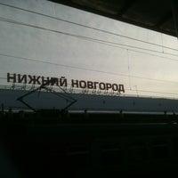 Photo taken at Поезд №139/140 Нижний Новгород — Москва by Натали Г. on 3/10/2013