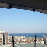 Photo taken at Titanic hotel by Emre.D on 7/14/2014