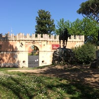 Photo taken at Museo Pietro Canonica a Villa Borghese by Nikos M. on 4/7/2014