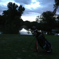 Photo taken at Nibley Park Golf Course by Steve B. on 8/24/2013