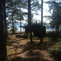 Photo taken at Vaalimaa by Алексей К. on 9/14/2014