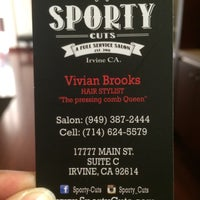 Sporty cuts salon barbershop in irvine for 18 8 salon irvine