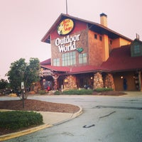 Photo taken at Bass Pro Shops by Edmund R. on 8/17/2013