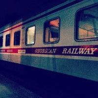 Photo taken at Makhinjauri Railway Station | მახინჯაურის რკინიგზის სადგური by Tiko E. on 7/15/2013