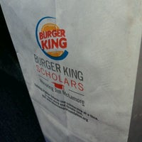 Photo taken at Burger King by Kesia S. on 3/28/2013