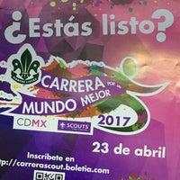 Photo taken at Asociación de Scouts de México, A.C. by Miner H. on 4/19/2017
