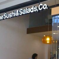 Photo taken at The Sushi & Salads, Co. by Osiris Mariel P. on 2/8/2013