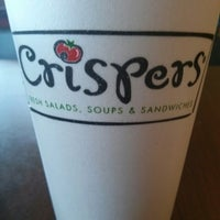 Photo taken at Crispers Fresh Salads, Soups and Sandwiches by Michael S. on 4/4/2013