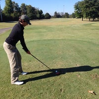 Photo taken at Brown Acres Golf Course by Brian M. on 10/21/2013