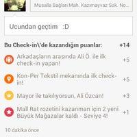 Photo taken at Kon-Per Tekstil by Bilal Ç. on 4/30/2014