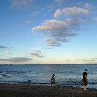Photo taken at Long Bay Beach by takuma y. on 2/17/2013