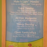 Photo taken at Jamba Juice Cascade Station by Shaedyn M. on 2/15/2014