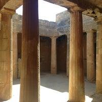 Photo taken at Tombs of the Kings by Mariya B. on 7/30/2013