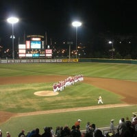 Photo taken at Dick Howser Stadium - Mike Martin Field by Ryan G. on 3/10/2013