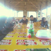 Photo taken at Kampung sawah by Fauzan d. on 11/21/2013