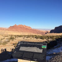 Photo taken at Black Dragon Canyon View Area by Coco on 12/29/2016