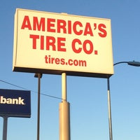 Photo taken at America's Tire Store by Curt B. on 1/5/2013
