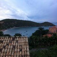 Photo taken at Pousada Bahiamarela by Atila L. on 5/24/2013