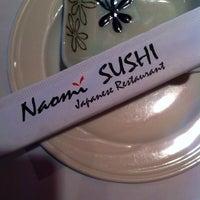 Photo taken at Naomi Sushi by Sarah H. on 6/25/2014