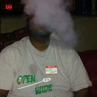 Photo taken at Blue Lizard Hookah Lounge by Anthony S. on 1/21/2013